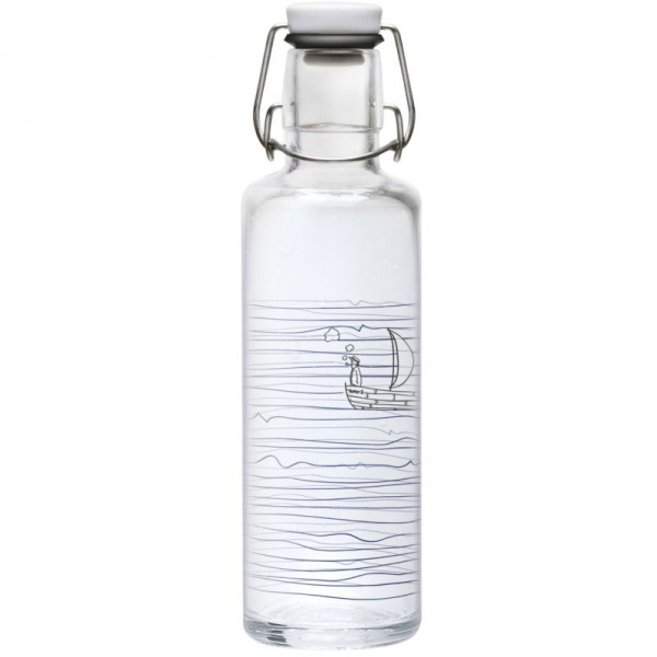 Trinkflasche Just Heimatwasser 0.6L, 1 Stück - soulbottles