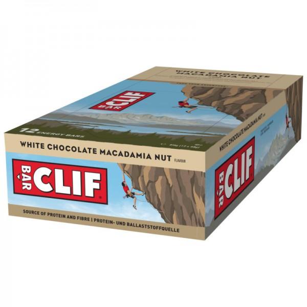 White Chocolate Macadamia Nut Riegel, 68g - Clif Bar
