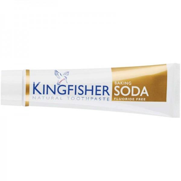 Zahncreme Baking Soda ohne Fluor, 100ml - Kingfisher