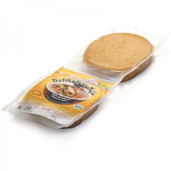 Delikatess-Tofu fein gewürzt Bio, 200g - Soyana