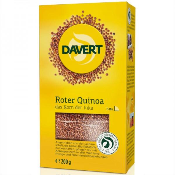 Roter Quinoa Bio, 200g - Davert