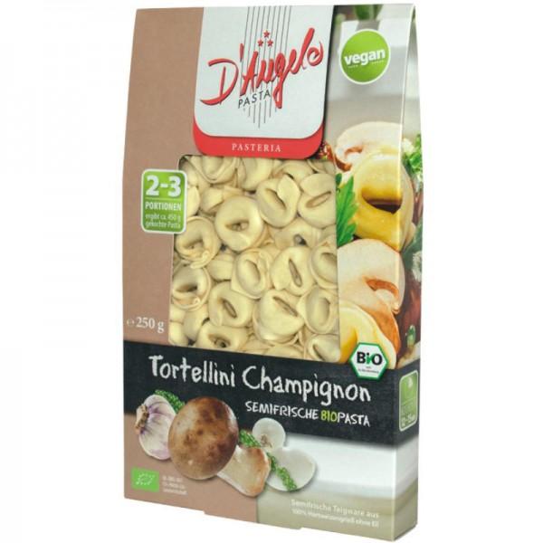 Tortellini Champignon Bio, 250g - D'Angelo Pasta