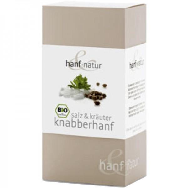 Salz & Kräuter Knabberhanf Bio, 100g - hanf & natur
