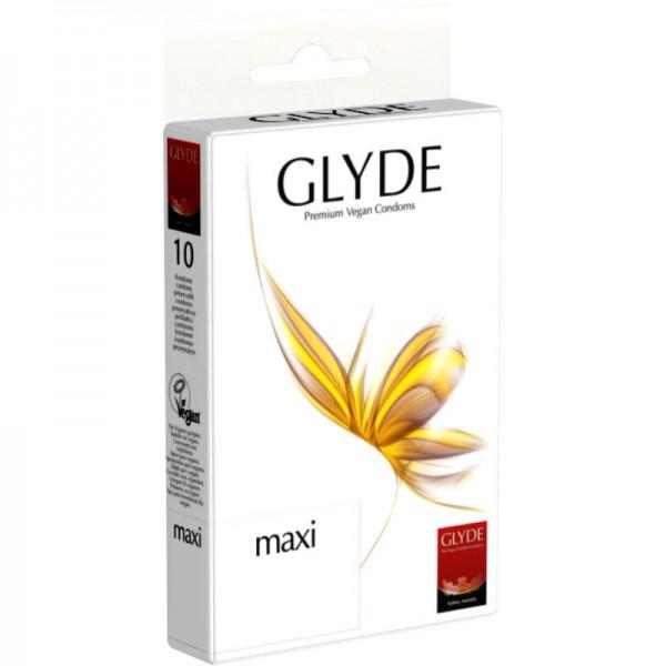 MAXI Premium Vegan Kondom, 1 Pack à 10 Stück - Glyde