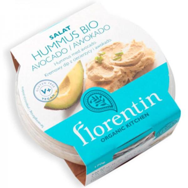 Hummus Avocado Bio, 170g - Florentin