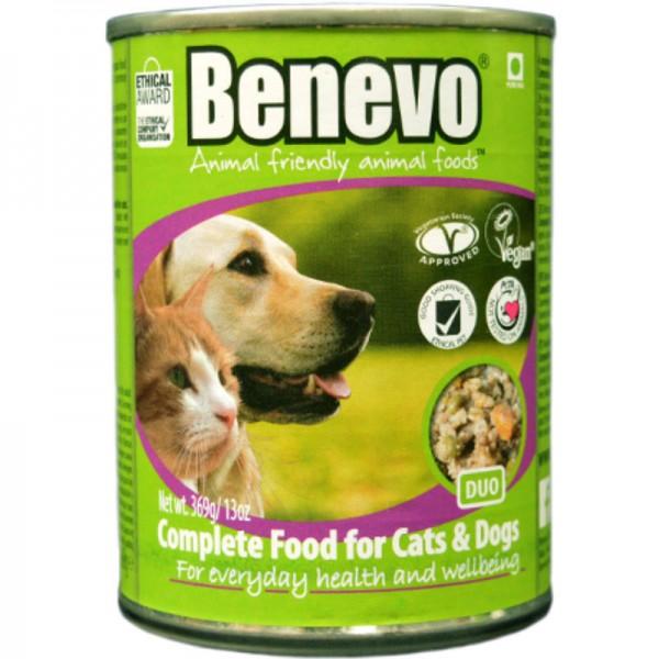 Duo Nassfutter für Katzen & Hunde, 369g - Benevo