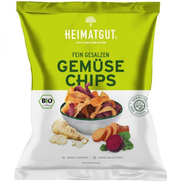 Gemüse Chips fein gesalzen Bio, 100g - Heimatgut