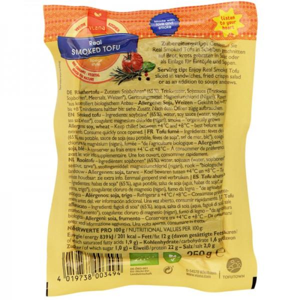 Real Smoked Tofu Bio, 250g - Viana