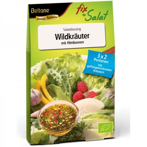 Fix für Salat Wildkräuter mit Himbeeren Bio, 27g - Beltane