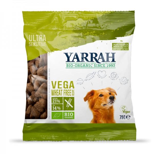Muster Hundefutter Vega Weizenfrei trocken Bio, 75g - Yarrah