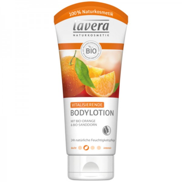 Vitalisierende Bodylotion Bio-Orange & Bio-Sanddorn, 200ml - Lavera