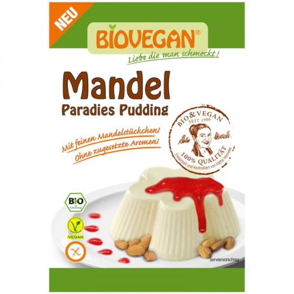 Mandel Paradies Pudding Bio, 49g - Biovegan