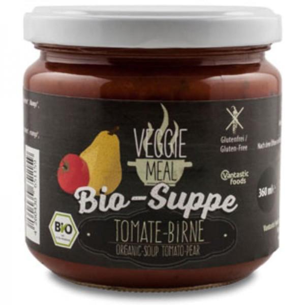 Tomate-Birne Suppe Veggie Meal Bio, 360ml - Vantastic Food