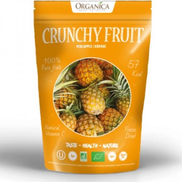 Crunchy Fruit Pineapple Bio, 16g - Organica