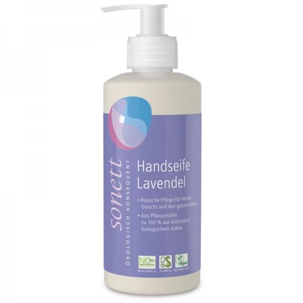 Handseife Lavendel Pumpspender, 300ml - Sonett