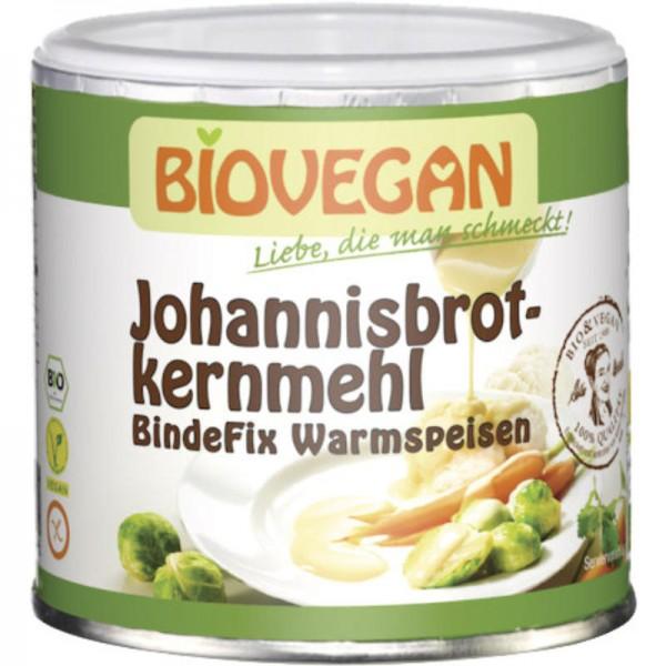 Johannisbrotkernmehl BindeFix Warmspeisen Bio, 100g - Biovegan