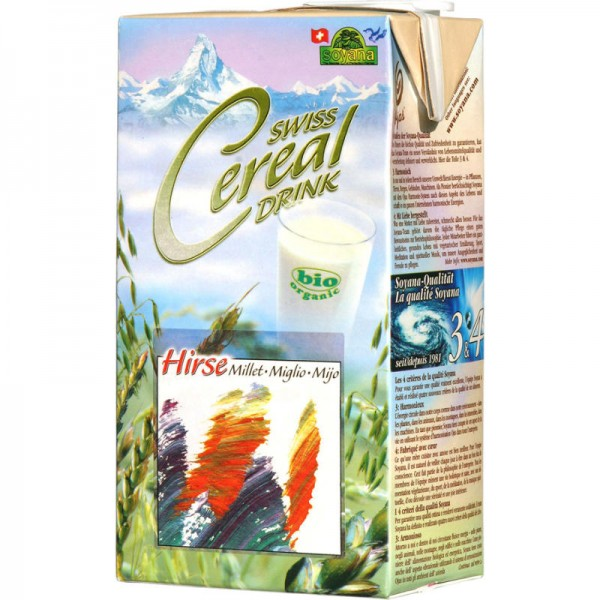 Hirse Swiss Cereal-Drink Bio, 1L - Soyana