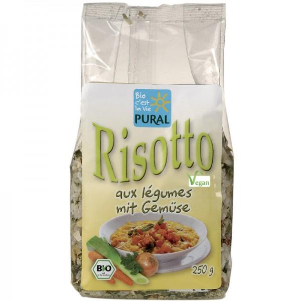 Risotto mit Gemüse Bio, 250g - Pural