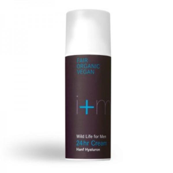 24hr Cream Wild Life for Men, 50ml - i+m Naturkosmetik