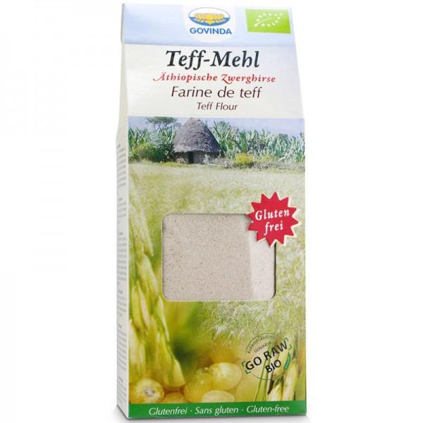 Teff-Mehl Äthiopische Zwerghirse Bio, 450g - Govinda