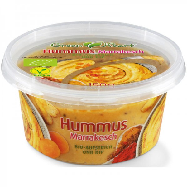 Hummus Marrakesch Bio, 150g - Green Heart