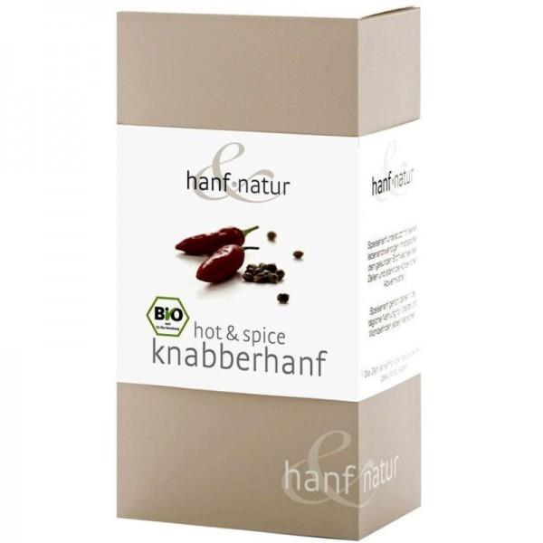 Hot & Spice Knabberhanf Bio, 100g - hanf & natur