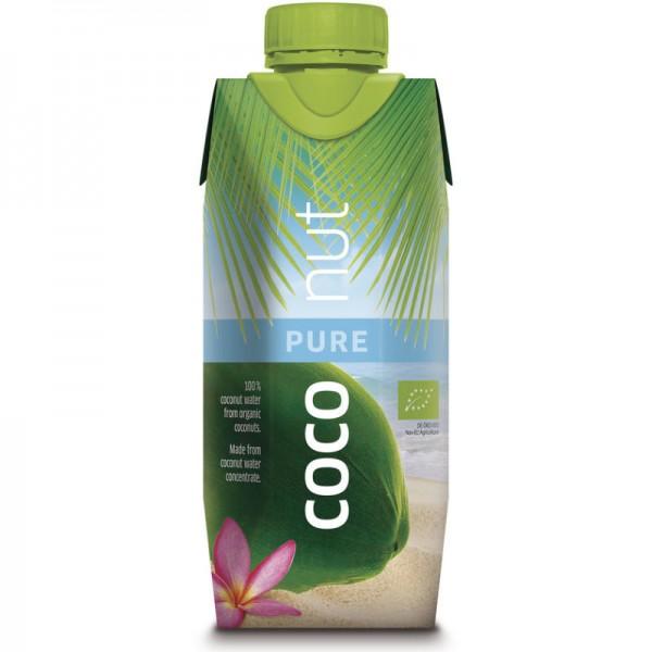 Coconut Water Pur Bio, 330ml - aquaverde