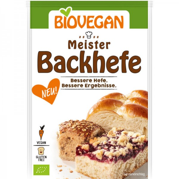 Meister Backhefe Bio, 7g - Biovegan