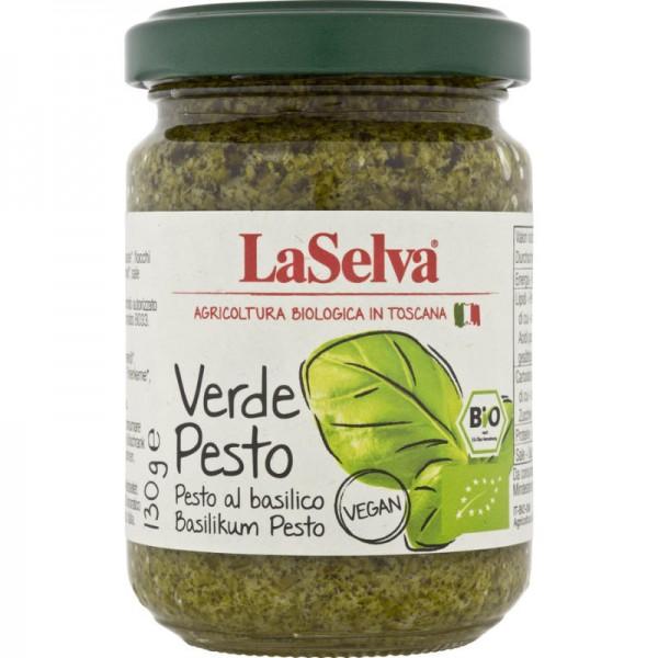 Verde Pesto Basilikum Pesto Bio, 130g - LaSelva