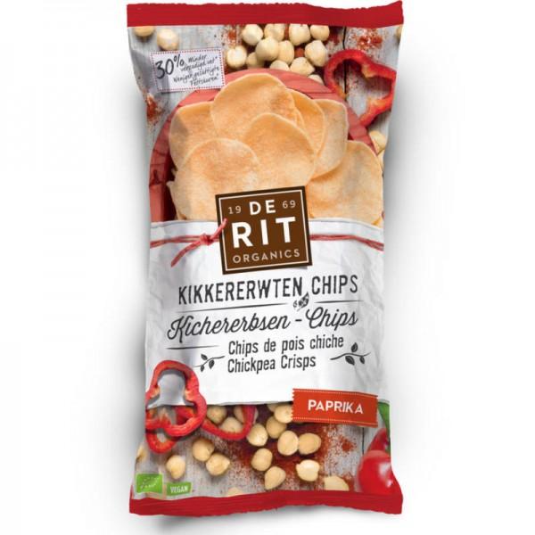 Kichererbsen-Chips Paprika Bio, 75g - De Rit