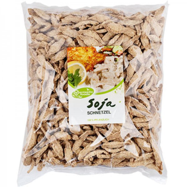Soja Schnetzel, 1kg - Vantastic Foods