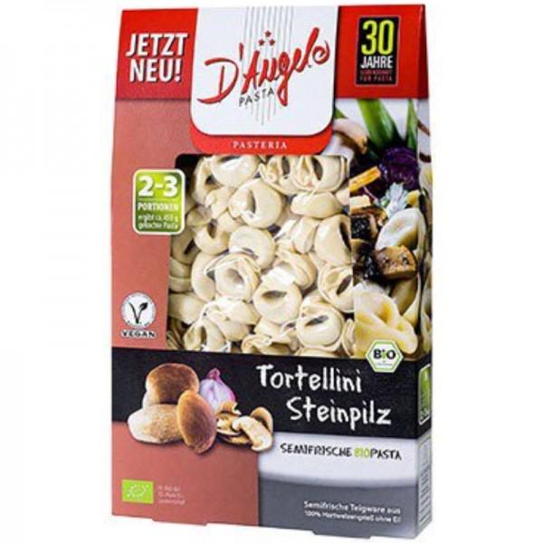 Tortellini Steinpilz Bio, 250g - D'Angelo Pasta
