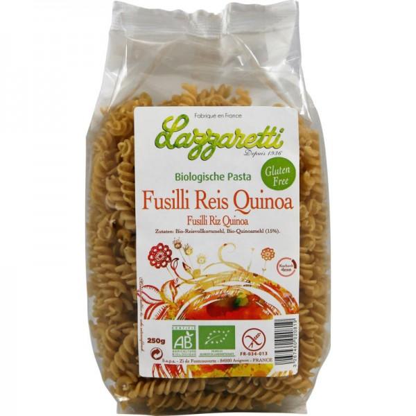 Reis Quinoa Fusilli Bio, 250g - Lazzaretti