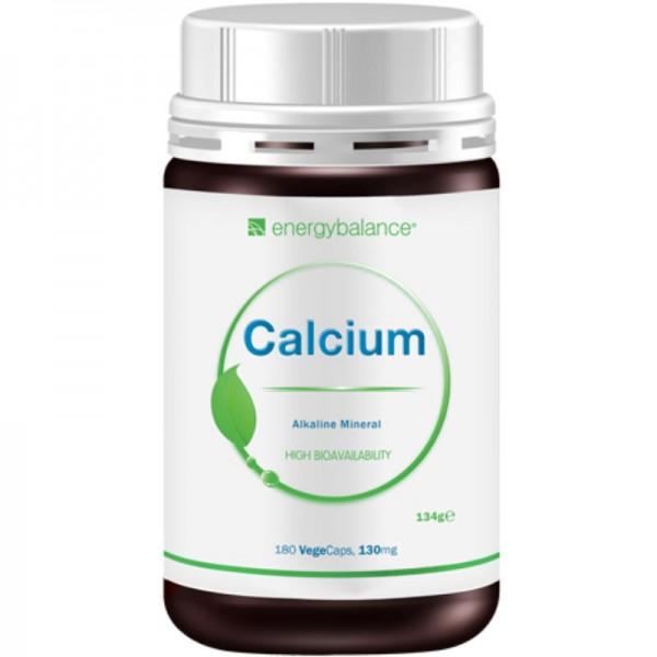 Calcium High Bioavailability 130mg, 180 VegeCaps - Energybalance