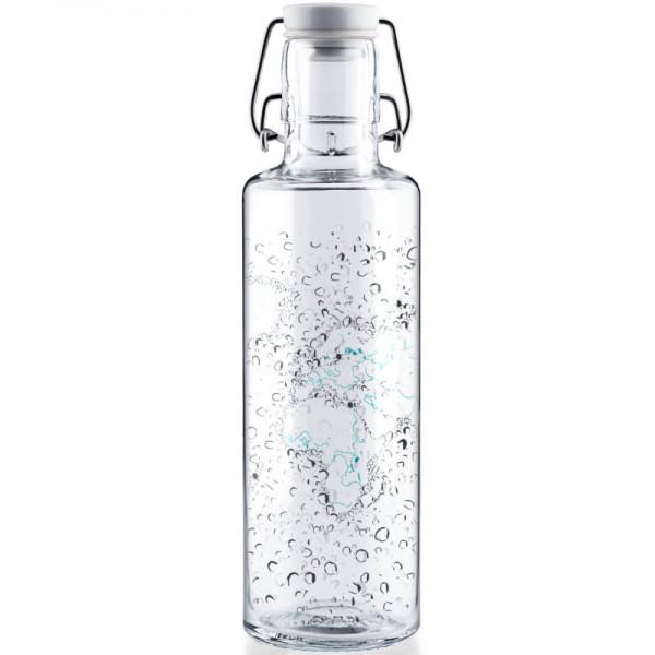 Trinkflasche Waterworld 0.6L, 1 Stück - soulbottles