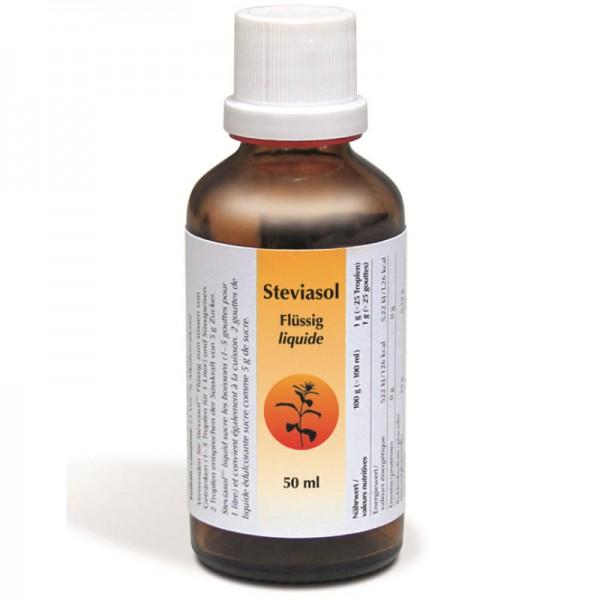 Stevia Flüssig, 50ml - Steviasol