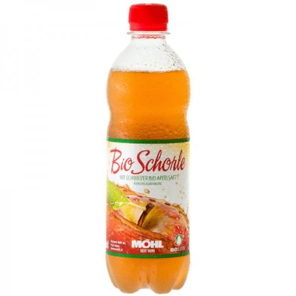 Apfelsaft Schorle kohlensäurehaltig Bio, 500ml - Mosterei Möhl