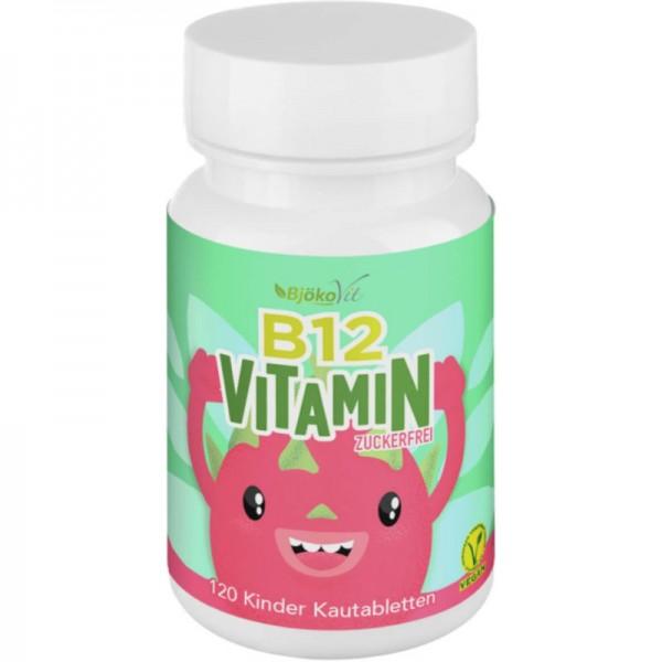 Vitamin B12 Kautabletten für Kinder, 120 Stück - BjökoVit