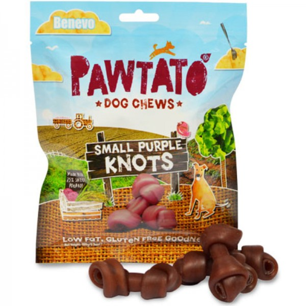 Pawtato Small Purple Knots, 150g - Benevo