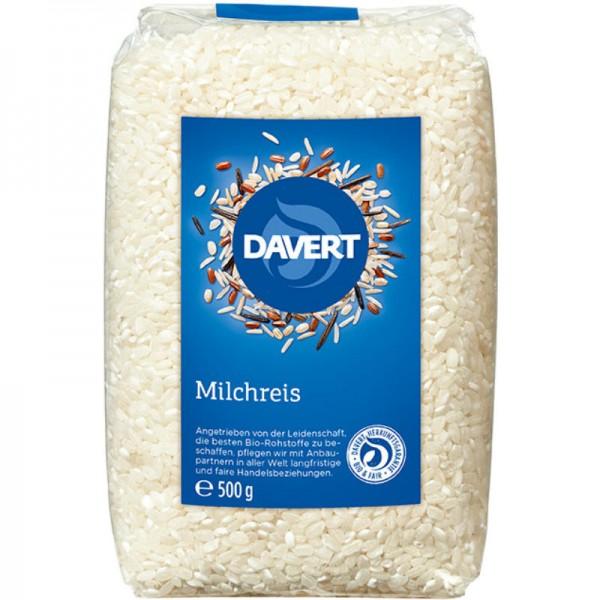 Milchreis Bio, 500g - Davert
