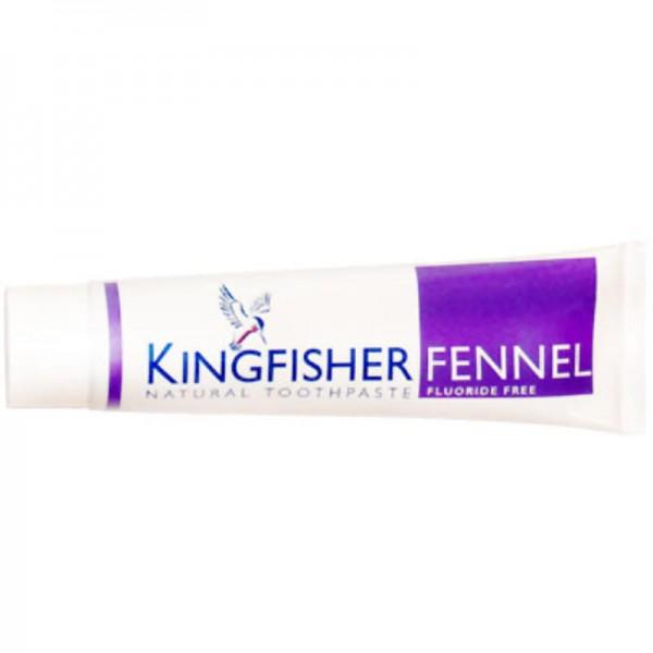 Zahncreme Fenchel ohne Fluor, 100ml - Kingfisher