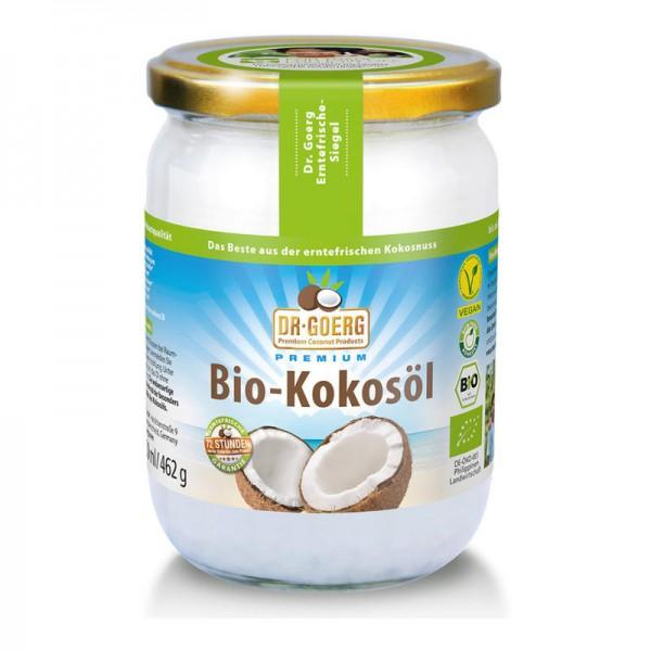Kokosöl roh Bio, 500ml - Dr. Goerg