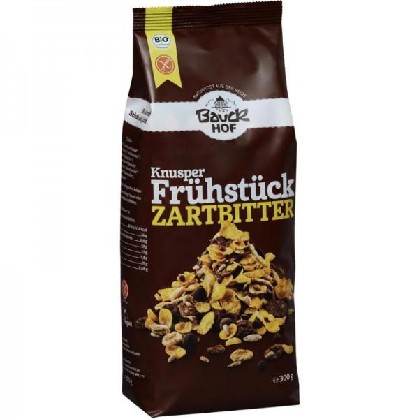 Knusper Frühstück Zartbitter Bio, 300g - Bauckhof