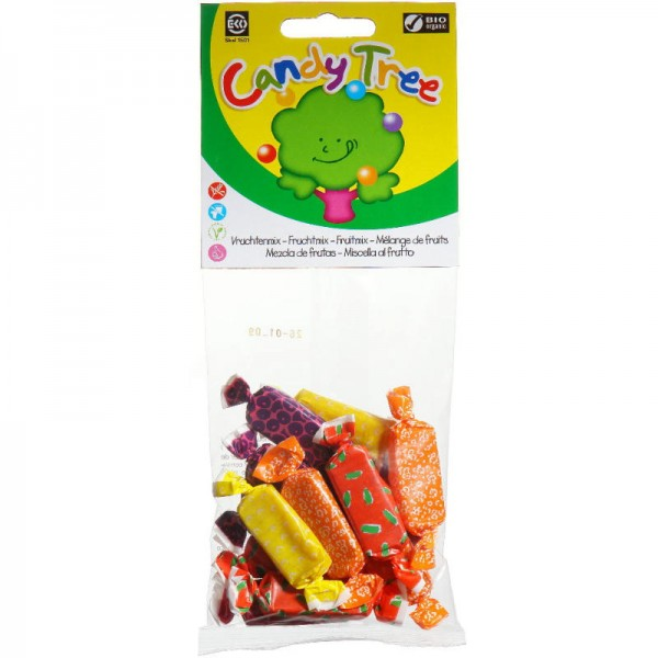Kaubonbons Fruchtmix Bio, 75g - Candy Tree