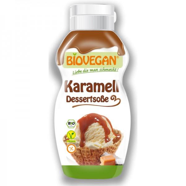 Karamell Dessertsosse Bio, 250g - Biovegan