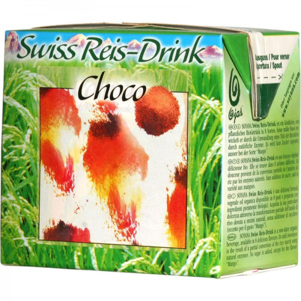 Choco Swiss Reis-Drink Bio, 500ml - Soyana