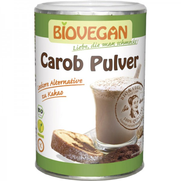 Carob Pulver Bio, 200g - Biovegan