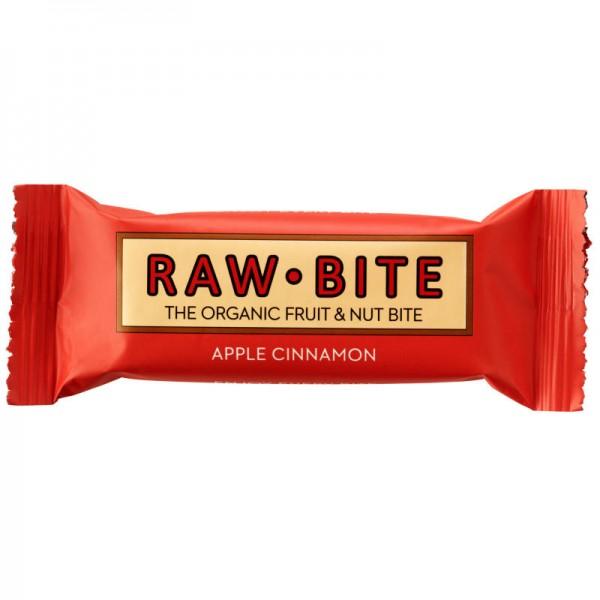Apple Cinnamon Rohkost-Riegel Bio, 50g - Raw Bite