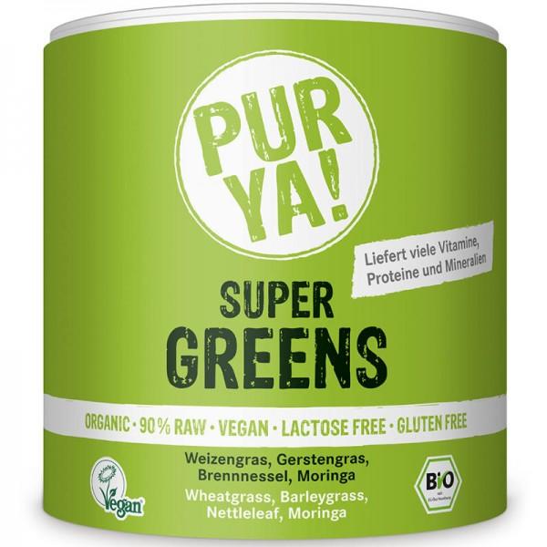 Super Greens Bio, 150g - PUR YA!