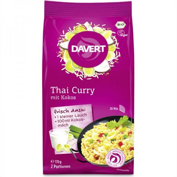 Thai Curry mit Kokos Bio, 170g - Davert